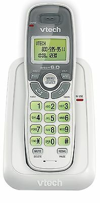 Vtech Dect 6.0 Single Handset Cordless Phone with Caller ID Green Backlit... New