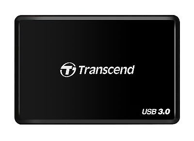 Transcend USB 3.0 Super Speed Multi-Card Reader for SD/SDHC/SDXC/MS/CF Ca... New