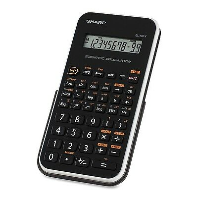 Sharp EL501XBWH Engineering/Scientific Calculator White New