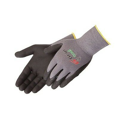 Liberty Glove & Safety G-Grip Nitrile Micro-Foam Palm Coated Seamless Kni... New