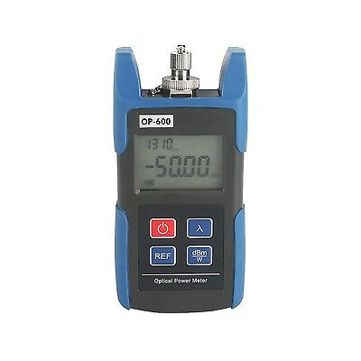 Sainsonic Portable Optical Power Meter with Connector SC FC Fiber TL510C ... New