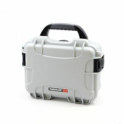 Nanuk 904 Case with Foam (Silver) Silver New