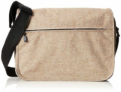 Everest Casual Laptop Messenger Briefcase Tan One Size New