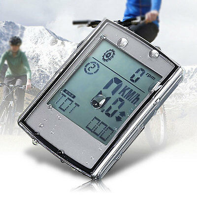 3-in-1 Portable Wireless Cycling Computer Cadence Heart Rate Monitor Chest Strap