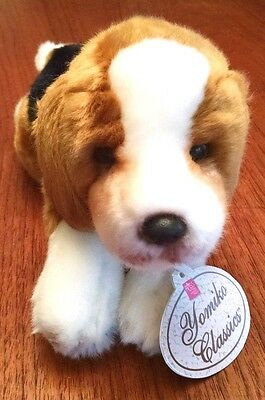 Yomiko Classics Russ Stuffed Beagle New with Tags Excellent Condition!