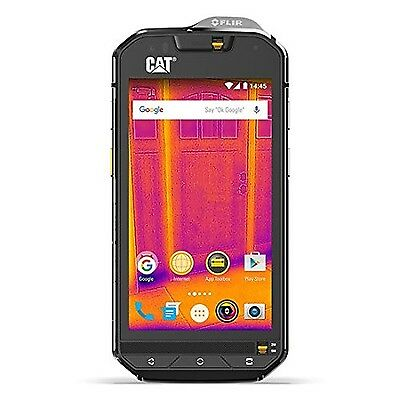 CAT PHONES S60 Rugged Waterproof Smartphone with integrated FLIR camera New