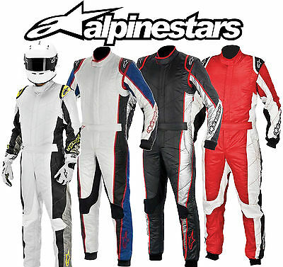Alpinestars GP Tech Rennanzug FIA 3-Layer zugelassen, Rally / Oval/ Track Day