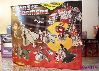 Transformers Reissue G1『SUPERION』Giftbox Set MISB