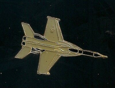 Vintage F-5 Freedom Fighter Aircraft old enamel pin