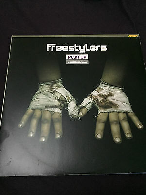 """Freestylers - Push Up (Remixes) (Against The Grain ATG009R) 12"""" G+ cond."""
