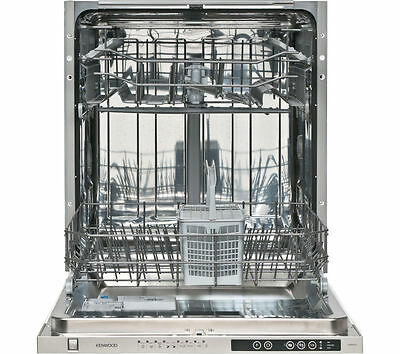 Kenwood Kid60S15 Full Size Fully Integrated Dishwasher, New And Unused