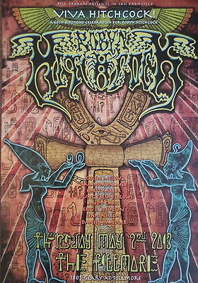 MINT ROBYN HITCHCOCK 2013 FILLMORE POSTER Soft Boys