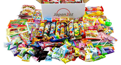 100+ PIECE JAPANESE CANDY SET Gummy Ramen Jelly Chips Chocolate Sweets Gum Snack