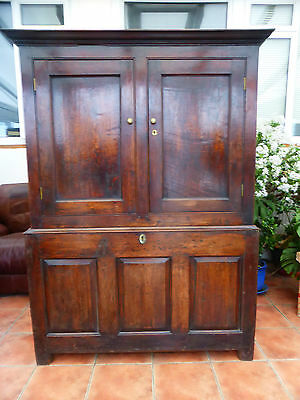 Country Oak Cupboard /wardrobe Suit Country Cottage 1760 Free Shipping