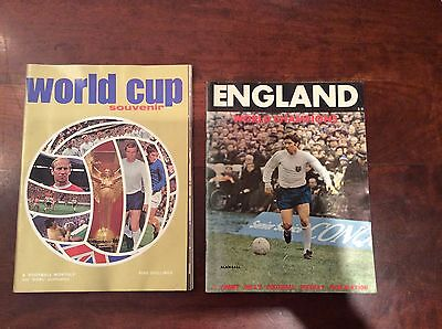 1970 World Cup Souvenir Magazine by Football Monthly/England World Champions Mag