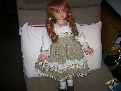 Cracker Barrel Doll Collectible Victorian Doll