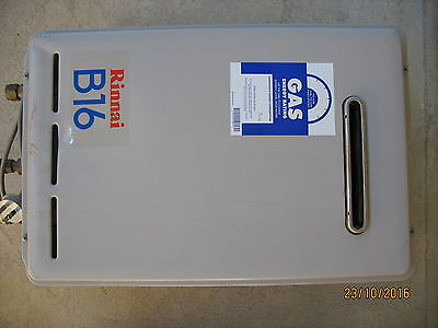 Rinnai B16 Gas Continuous Hot Water System