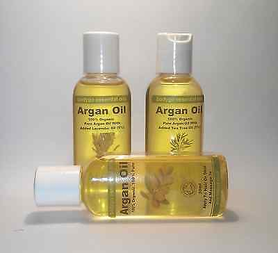 100% Organic Moroccan ARGAN OIL for Skin, Body & Hair  50ml