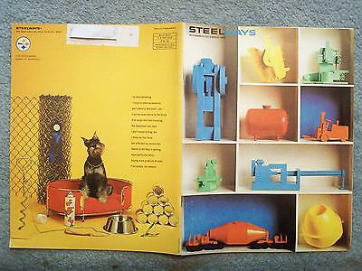 1965 November - Steelways Magazine Cutlery, Helicopter, Modelmaking Horse Trolly