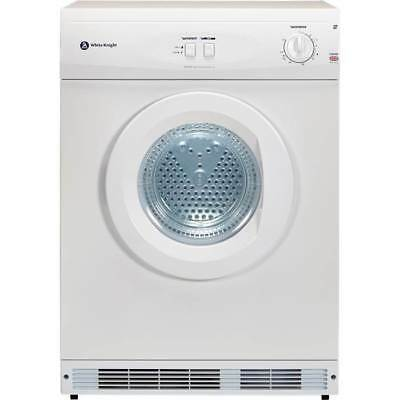 White Knight C42AW Freestanding C Rated 6Kg 2 Temps Vented Tumble Dryer in White