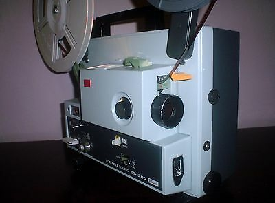 ELMO ST-1200 Super 8 SOUND movie Projector Great ~ SERVICED~