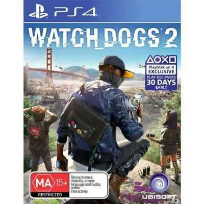Watch Dogs 2 PS4 Brand NEW