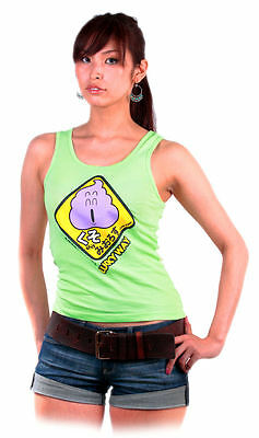 T-Shirt Dr Slump & Arale Chan Top Donna Shit Lucky Way Tg. S Nuova New