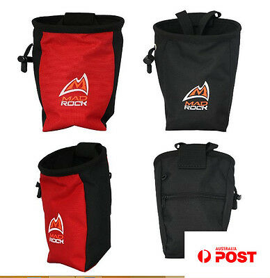 Outdoor Rock Climbing Magnesium Powder Chalk Addict Bag Waterproof Polyester