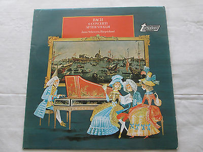 J.s.bach Janos Sebestyen Harpischord - 1968 Stereo Turnabout Records Tv34287S
