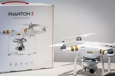 DJI Phantom 3 Professional 4K Film and Camera Drone with Hard Backpack and Memry