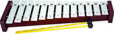 Percussion Workshop HK1130 Glockenspiel 13 Note Diatonic with 2 Beaters