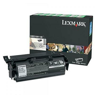 Lexmark X651H11E original toner cartridge. New and sealed.