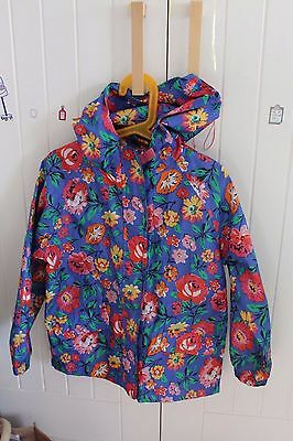 Girls Raincoat by Joules 6yrs 116cm