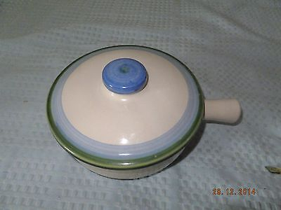 M.A. Hadley Pottery Kentucky Covered Handled Bowl/Casserole