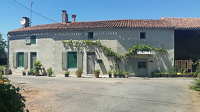 Farmhouse property for sale Deux-Sevres France + barn and outbuilding renovation