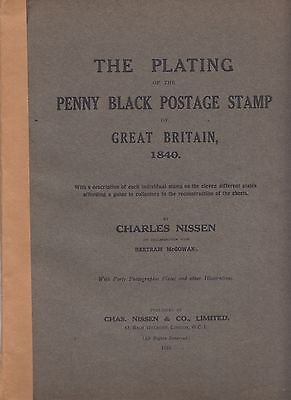 Plating of the Penny Black, Charles Nissen, Original 1922 Edition