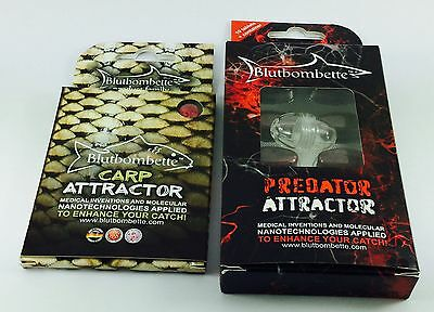 Innovative Irresistable Carp&predator Attractor Bluttbombette