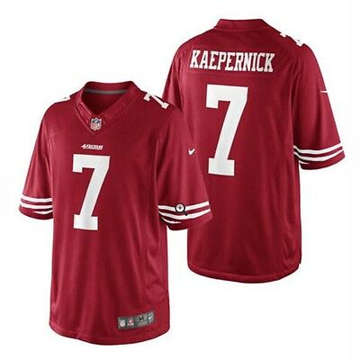 Nike NFL San Francisco 49ers Kaepernick American Football Limited Jersey Red S