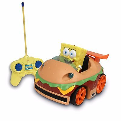 Remote Control RC SpongeBob Squarepants Krabby Patty Mobile Kids Toy Car