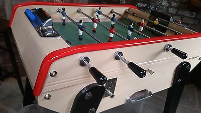 Bonzini coin operated 3 bar table football foosball cafe kick professional pub