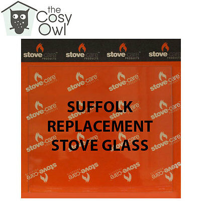 Suffolk Replacement Stove Glass - Heat Resistant Glass For Suffolk Stoves