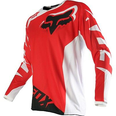 FOX 180 Race Jersey Red Size Youth X LARGE