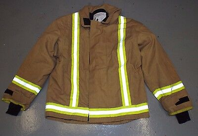 FIRE FIGHTER COSALT YELLOW TUNIC SAFETY JACKET - Size: 12  , British Army