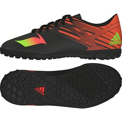 NEW Adidas Messi 15.4 Junior Football Trainers Black Soccer Shoes