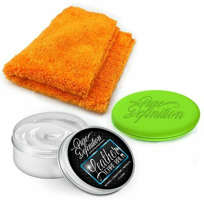 Leather Balm   125g Car Kit   Clean Revive Condition Protect ~ Pure Definition ®