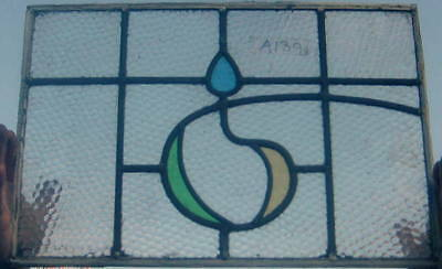 A139   Stained Glass window . Ca 1920