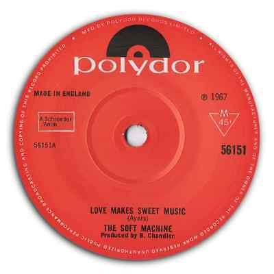 "THE SOFT MACHINE - ""Love Makes Sweet Music"" PSYCH BEAT STOMPER - HEAR IT"