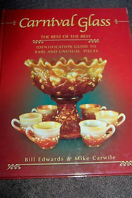 Antique Collectibles Carnival Glass  Price Guide/identification Pictures Book #2