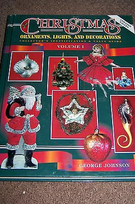 Identification/price Guide Book On Christmas Ornaments Lighting & Decorations