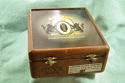 Small Wood Cigar Box